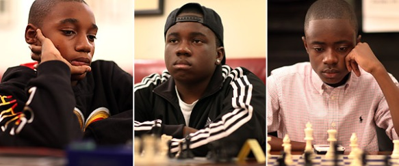 Young Black Chess Masters