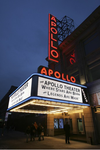 Apollo Theater marquee