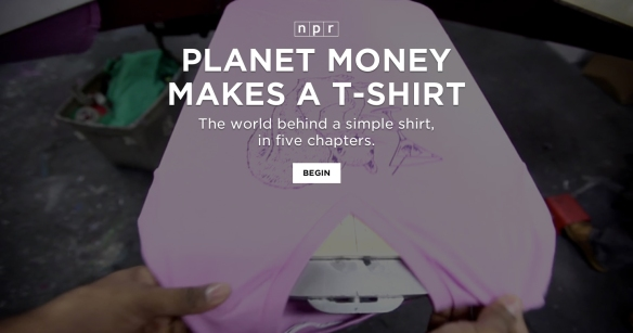 Planet Money T-Shirt Project