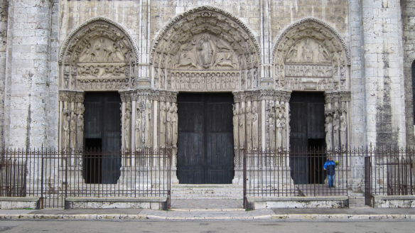 Royal Portal at the Cathedral of Our Lady of Chartres