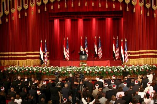 President Obama at Cairo University