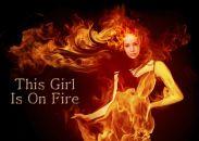 Výsledek obrázku pro girl on fire