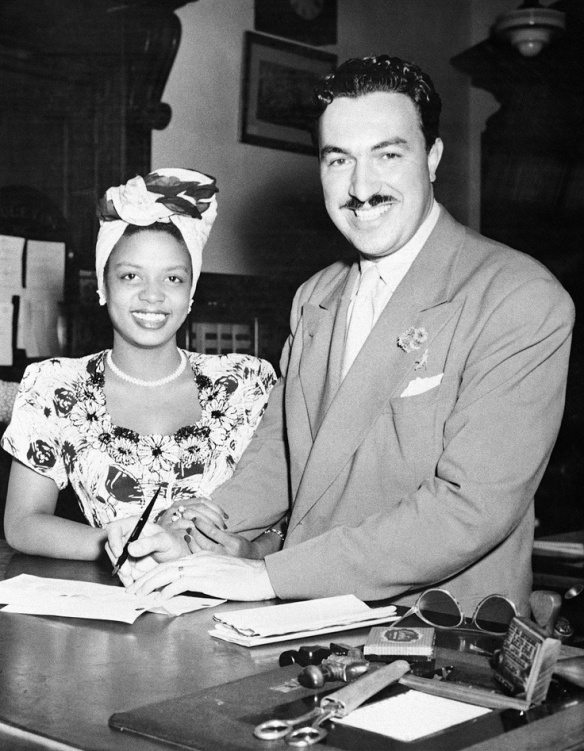 Hazel Scott and Adam Clayton Powell, Jr.