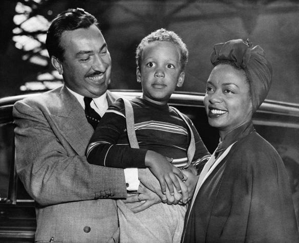 Hazel Scott and Family