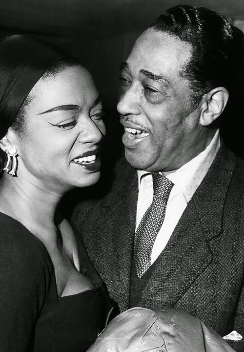 Hazel Scott and Duke Ellington