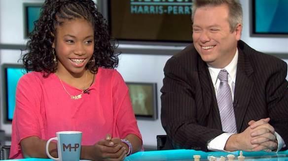 Rochelle on MSNBC