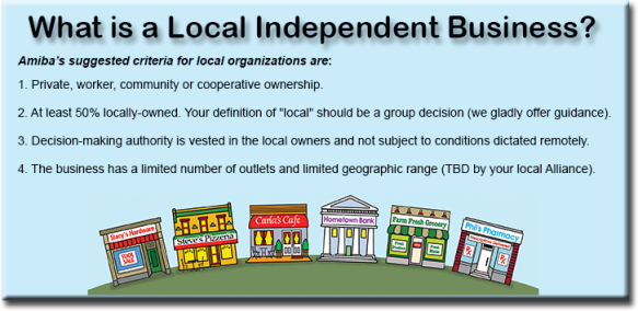 What is an local independent business?