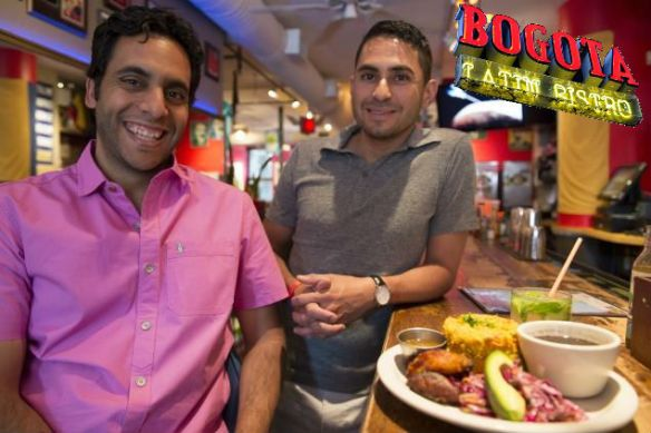 George and Farid of Bogota Latin Bistro