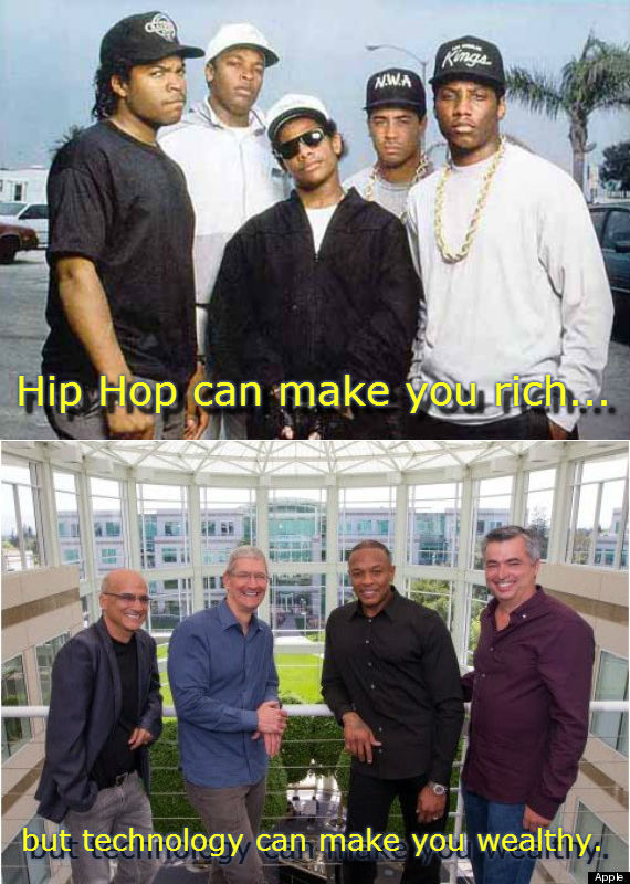 Hip Hop can make you rich...