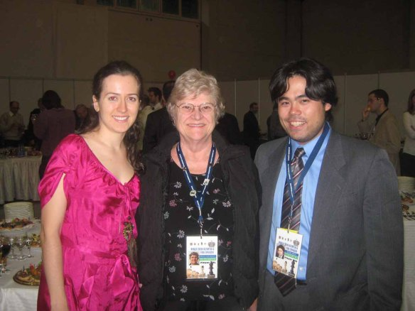 Irina Krush, Elizabeth Shaughnessy, and Hikaru Nakamura