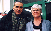 Garry Kasparov and Elizabeth Shaughnessy