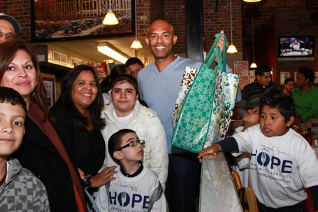 Mariano Rivera for HOPE Community Services