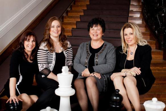 Sofia, Judit, Klara, and Susan Polgar
