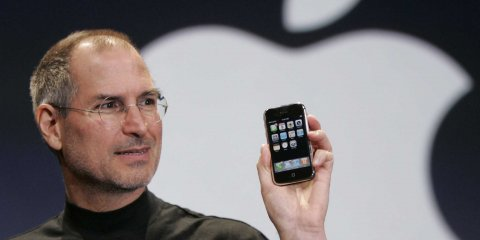 Steve Jobs iPhone