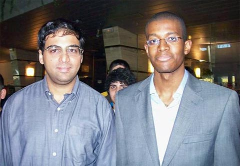 Viswanathan Anand and Anson Williams