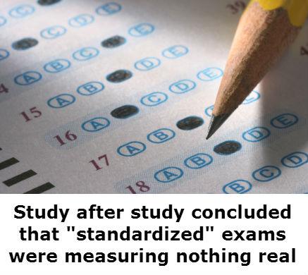 Standardized exams