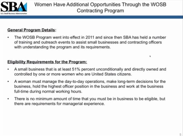Women have additional opportunities