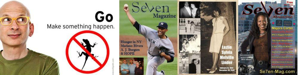 Seven magazine banner