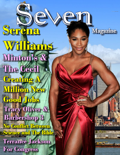 Seven magazine NYC - Serena Williams