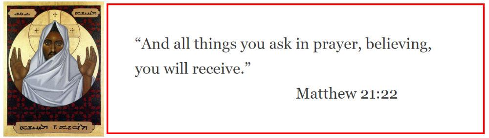 Matthew 21:22