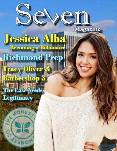 Seven magazine Richmond, VA - Jessica Alba
