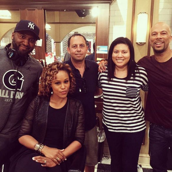 On the set of Barbershop 3