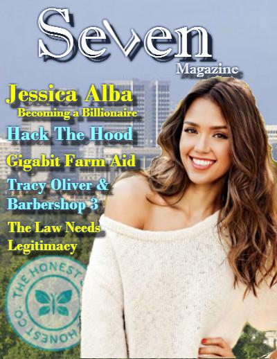 Seven magazine Oakland - Jessica Alba
