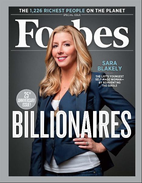 Sara Blakely - Forbes Cover