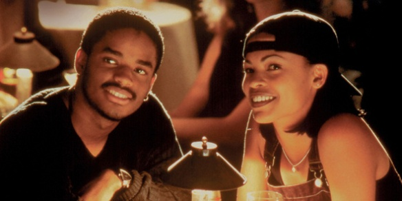 Darius Lovehall and Nina Mosley in love jones