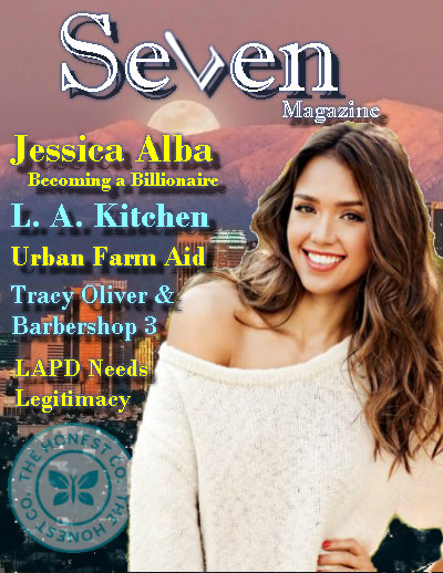 Seven magazine LA - Jessica Alba