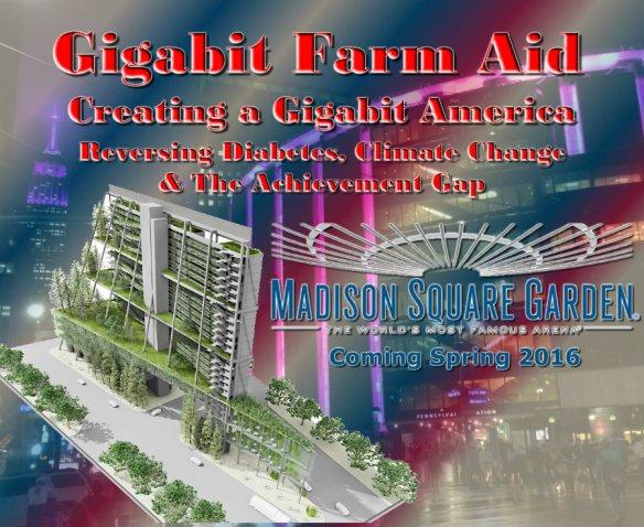 Gigabit Farm Aid - Madison Square Garden