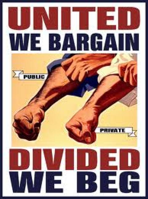 United We Bargain; Divided We Beg