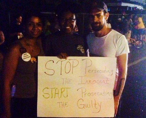 Jack Dorsey in Ferguson
