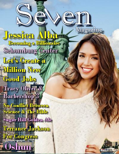 Seven Magazine - Jessica Alba cover
