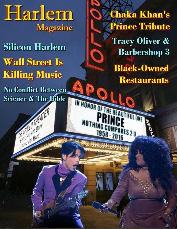 Harlem Magazine - Chaka Khan