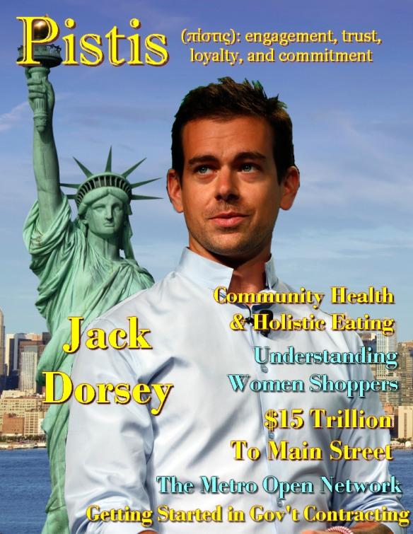 Pistis Magazine - Jack Dorsey cover
