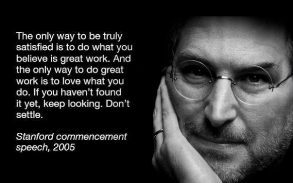 "Steve Jobs ""Doing Great Work"""