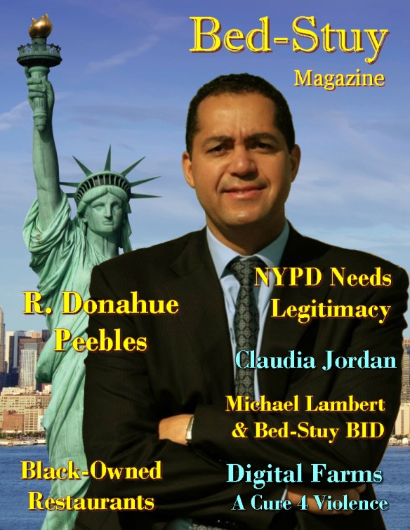 Bed-Stuy Magazine - Don Peebles cover