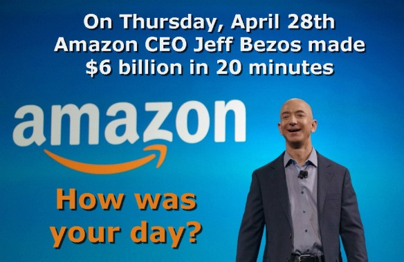 Jeff Bezos - $6 Billion in 20 Minutes