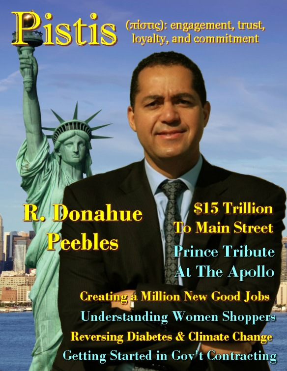 Pistis Magazine - Don Peebles cover
