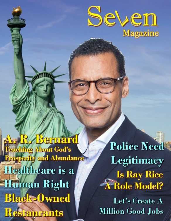 Seven Magazine - A R Bernard
