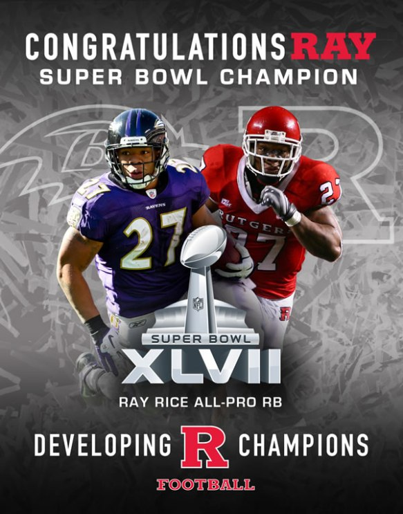 Ray Rice Super Bowl