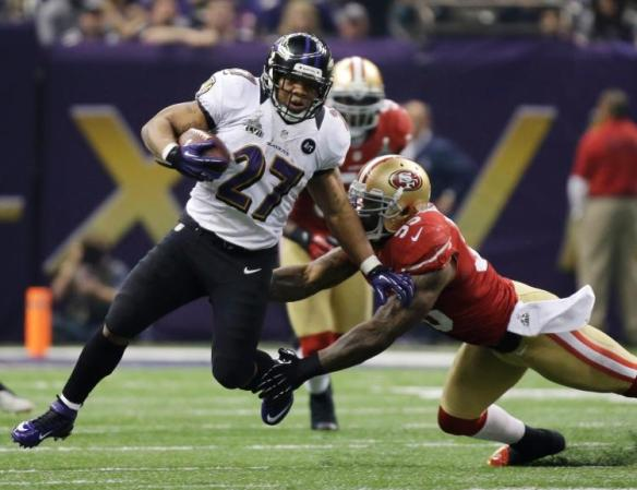 Ray Rice in Super Bowl XLVII