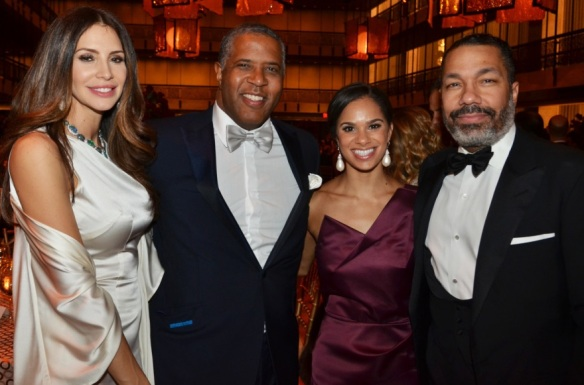 Hope & Robert Smith; Misty Copeland & Valentino Carlotti