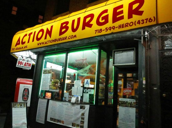 Action Burger in East Williamsburg