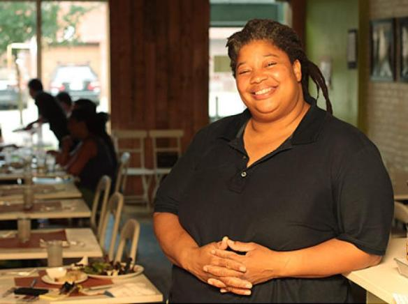 Cheryl Smith of Cheryl's Global Soul in Prospect Heights