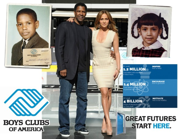 Denzel Washington and Jennifer Lopez