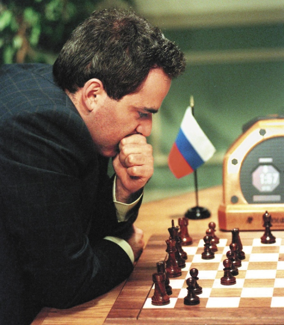 Garry Kasparov & Deep Blue
