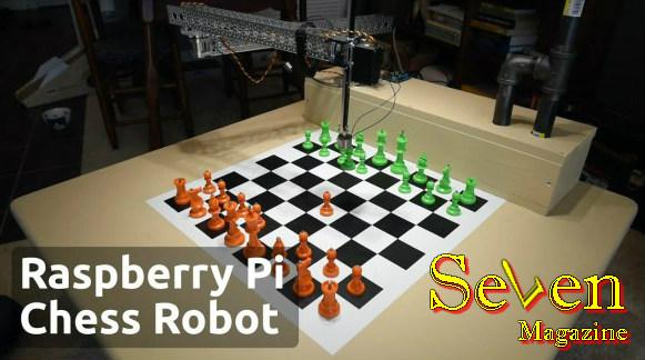 Raspberry Pi Chess Robot