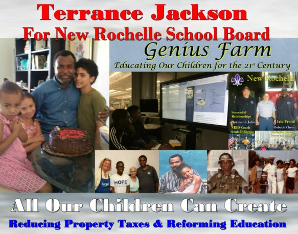 Terrance Jackson for NR School Board